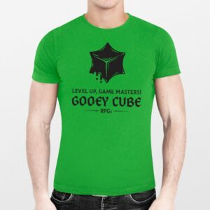 Special 2021 Gooey Cube Convention T-Shirt! Level up, Game Masters!